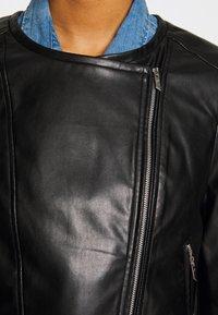 ONLY - ONLDALY JACKET - Kurtka ze skóry ekologicznej - black - 4