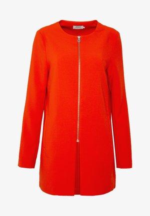 ONLJOYCE SPRING COAT - Halflange jas - spicy orange