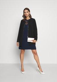 ONLY - ONLJOYCE SPRING COAT - Short coat - black - 1