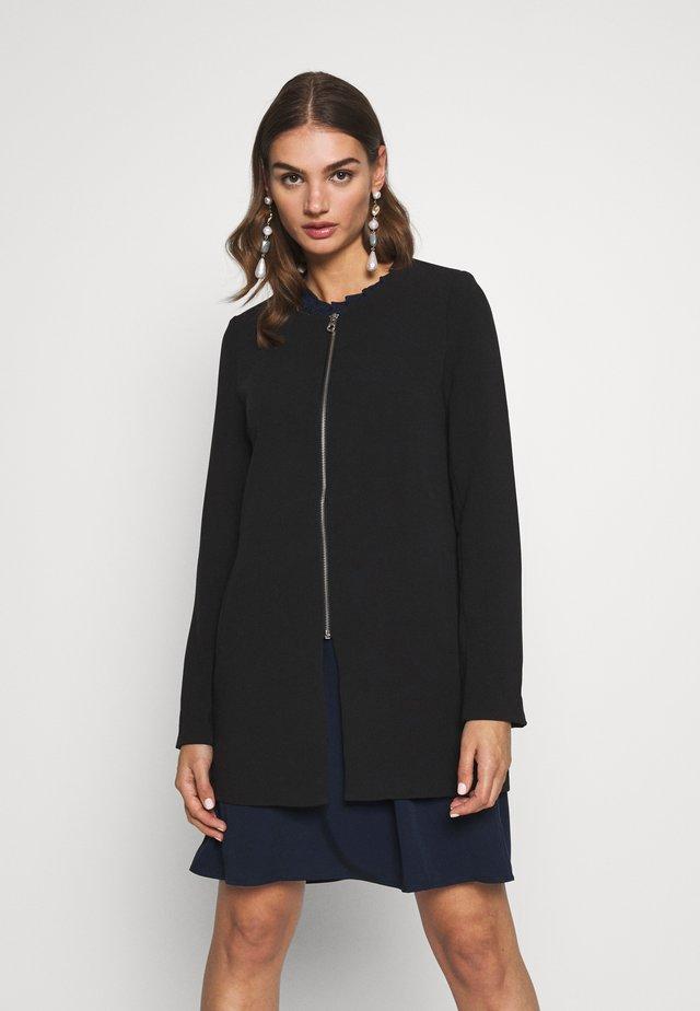 ONLJOYCE SPRING COAT - Cappotto corto - black