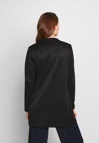 ONLY - ONLSOHO ICON COATIGAN - Halflange jas - black - 2