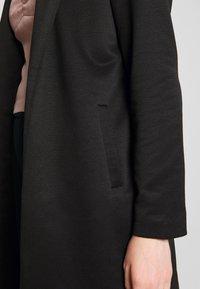 ONLY - ONLSOHO ICON COATIGAN - Halflange jas - black - 4