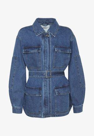 ONLMYNTHE WORKER JACKET - Džínová bunda - medium blue denim