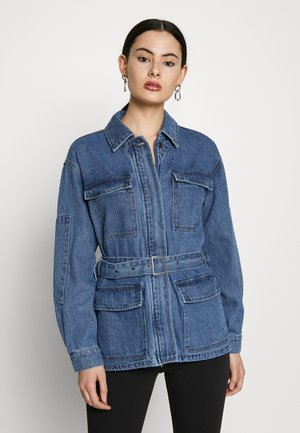 ONLMYNTHE WORKER JACKET - Jeansjakke - medium blue denim
