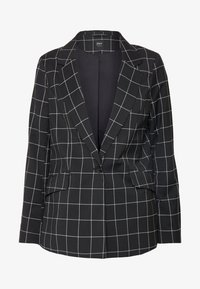 ONLY - ONLCAROLINA CHECK - Blazer - black/creme - 3