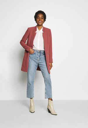 ONLLINEA MIRIAM ZIP COATIGAN  - Blazer - Apple Butter
