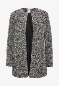 ONLY - ONLAPPLE CRISPY - Krátký kabát - black - 3