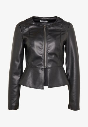 ONLJOSIE JACKET - Faux leather jacket - black