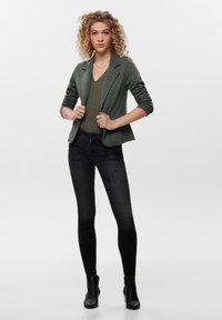 ONLY - Blazere - dark grey melange - 1