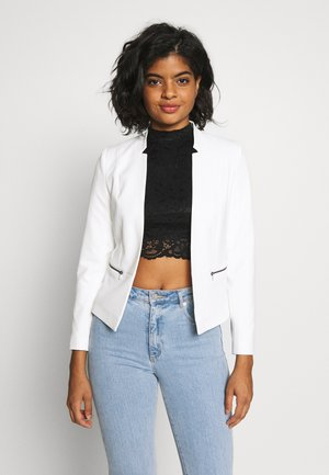 ONLGRY SHORT ZIP - Blazer - cloud dancer