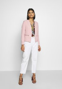 ONLY - ONLGRY SHORT ZIP - Blazer - misty rose