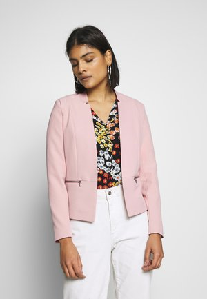 ONLGRY SHORT ZIP - Blazer - misty rose