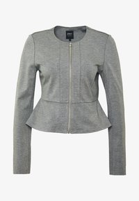 ONLY - ONLPOPTRASH ZIP  - Blazer - medium grey melange - 3