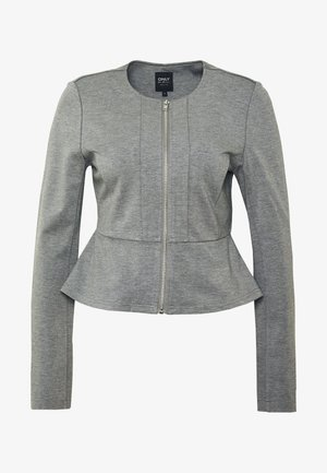 ONLPOPTRASH ZIP  - Blazer - medium grey melange
