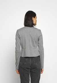 ONLY - ONLPOPTRASH ZIP  - Blazer - medium grey melange - 2