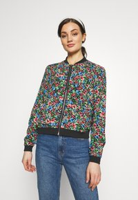 ONLY - ONLFLORAL JACKET - Bombejakke - night sky - 0