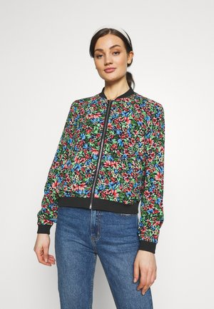 ONLFLORAL JACKET - Kurtka Bomber - night sky