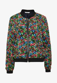 ONLY - ONLFLORAL JACKET - Bombejakke - night sky - 3