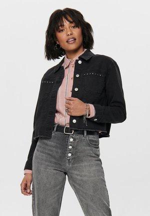 Veste en jean - black denim