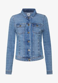 ONLY - ONLWESTA LIFE JACKET  - Denim jacket - light blue denim - 3