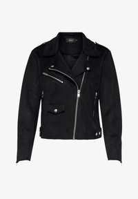 ONLY - BIKER - Giacca in similpelle - black - 4