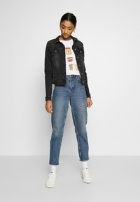ONLY - ONLTIA LIFE JACKET - Jeansjakke - black denim - 1