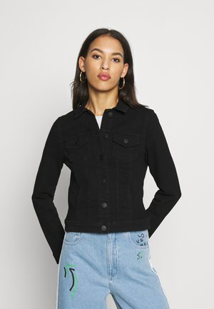 ONLWESTA JACKET - Denim jacket - black
