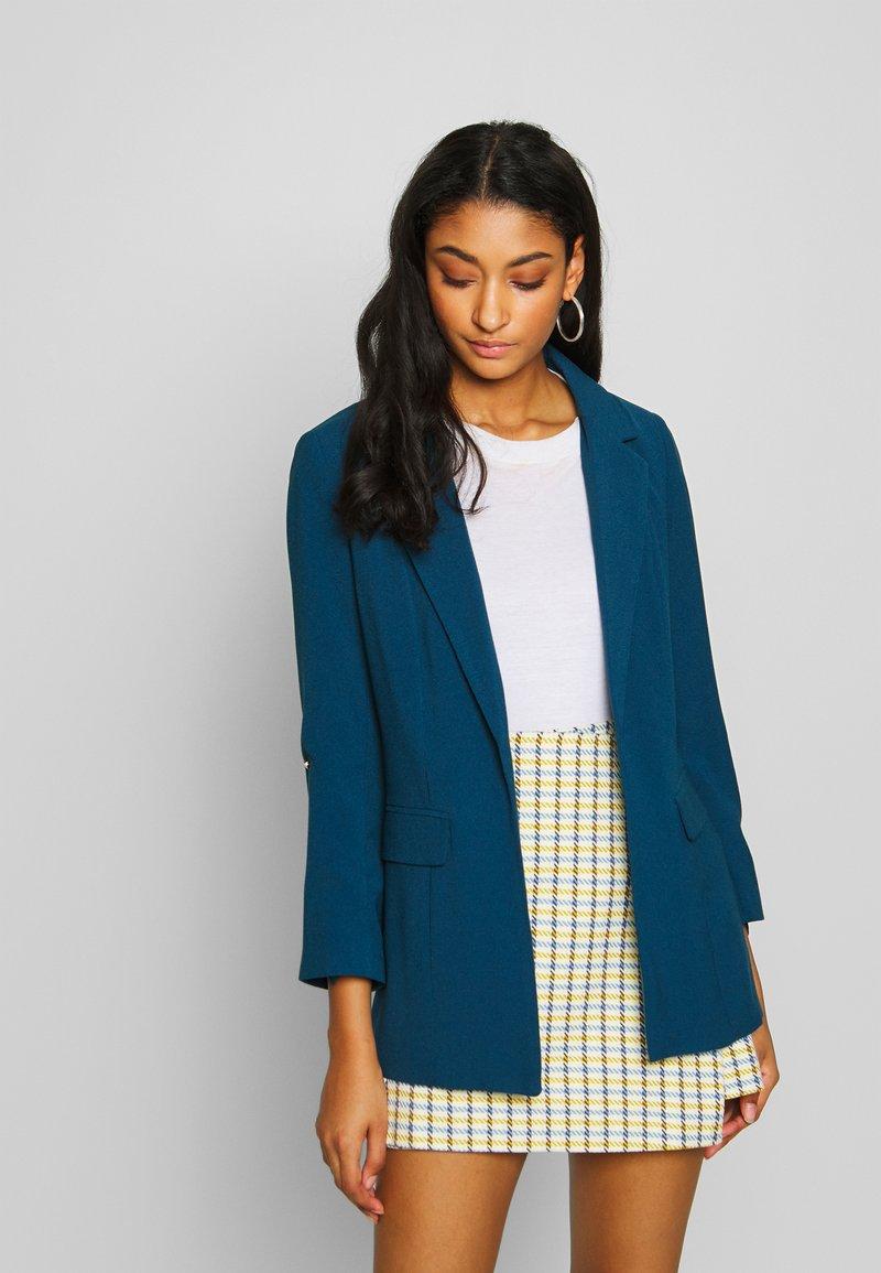 ONLY - ONLKAYLA RUNA LIFE SOLID  - Krátký kabát - insignia blue