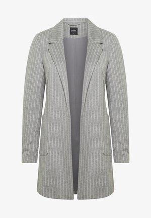 ONLBAKER - Krátký kabát - medium grey melange/cloud dancer