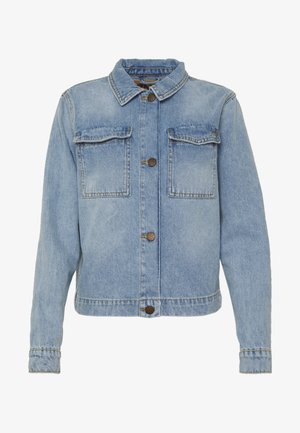 ONLCARLA LIFE JACKET - Denim jacket - light blue denim