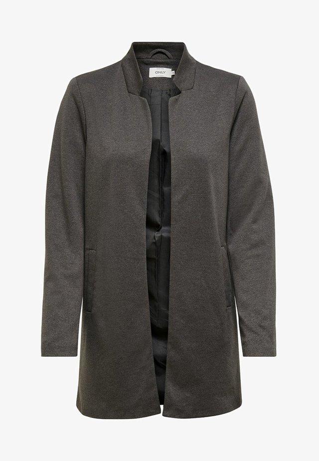 ONLSOHORUBY SPRING COAT CC OTW - Abrigo corto - dark grey melange
