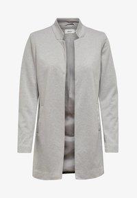 ONLY - ONLSOHORUBY SPRING COAT CC OTW - Short coat - light grey melange - 0