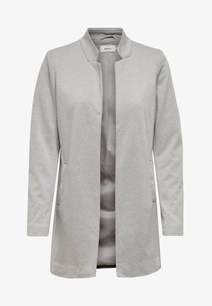 ONLSOHORUBY SPRING COAT CC OTW - Kort kappa / rock - light grey melange