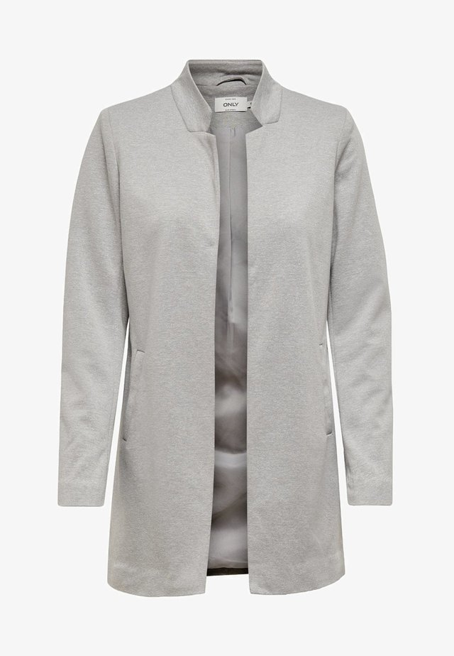 ONLSOHORUBY SPRING COAT CC OTW - Abrigo corto - light grey melange