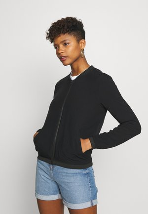 ONLNOVA JACKET SOLID - Giubbotto Bomber - black