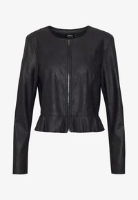 ONLY - ONLBALLERINA JACKET - Faux leather jacket - black - 4