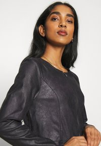 ONLY - ONLBALLERINA JACKET - Faux leather jacket - black - 3