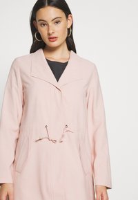 ONLY - ONLSILLE DRAPY - Manteau court - misty rose - 3