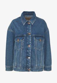 ONLY - ONLCALLIE LIFE JACKET  - Denim jacket - medium blue denim - 4