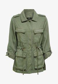 ONLY - ONLKENYA LIFE UTILITY JACKET - Short coat - khaki - 5
