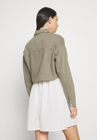 ONLY - JACKE CROPPED - Giacca di jeans - gunmetal - 2