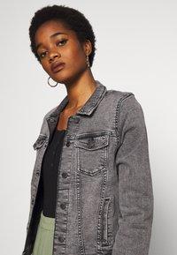 ONLY - ONLTIA JACKET - Denim jacket - grey denim - 3