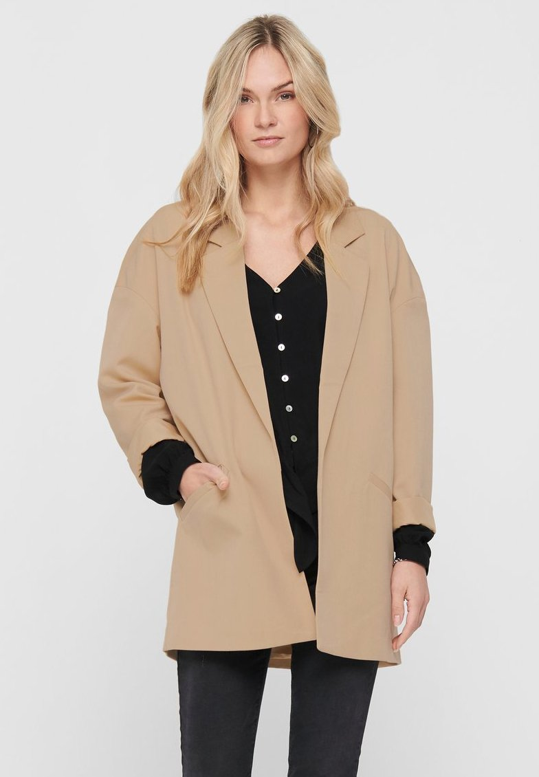 ONLY - Manteau court - beige