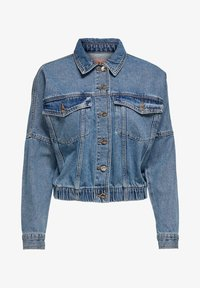 ONLY - JEANSJACKE CROPPED - Denim jacket - medium blue denim - 5