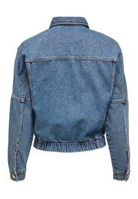 ONLY - JEANSJACKE CROPPED - Denim jacket - medium blue denim - 6