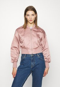 ONLY - ONLJACKIE CROPPED JACKET  - Chaquetas bomber - adobe rose - 0
