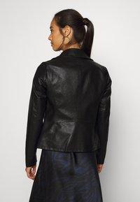 ONLY - ONLMELISA BIKER - Faux leather jacket - black - 2