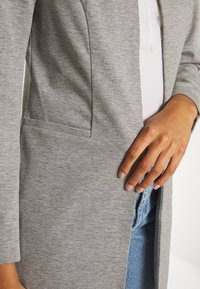 ONLY - ONLPENNY COATIGAN - Blazer - medium grey melange - 5