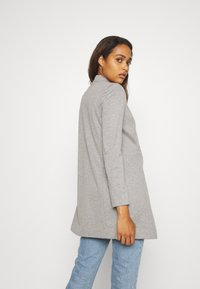 ONLY - ONLPENNY COATIGAN - Blazer - medium grey melange - 2