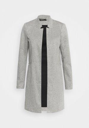 ONLPENNY COATIGAN - Cappotto corto - medium grey melange